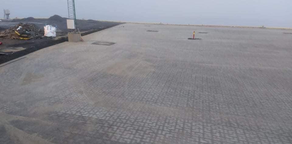 3500 m2 med Permac Lock stein