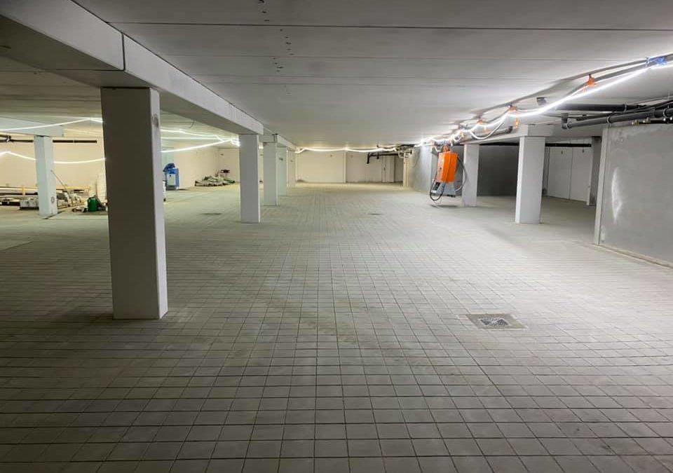 Parkeringskjeller i Bodø